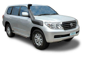 SAFARI SNORKEL TO SUIT TOYOTA LANDCRUISER 200 SERIES TO 09/2015 1VD-FTV 4.5L I/cooled V8 T/T Dsl., F/Lift Dsl., 2UZ-FE 4.7L V8 Petrol, F/Lift Petrol Mdls (SS87HF)