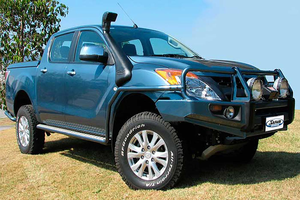 SAFARI SNORKEL TO SUIT MAZDA BT-50 B32P Series 08/11 On 3.2L 5cyl., TDCi P5AT Diesel Engine (SS985HF)