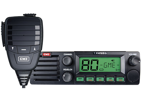 GME TX 4500S DSP DIN size UHF radio with ScanSuite