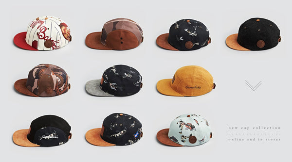 December '13 Cap Collection