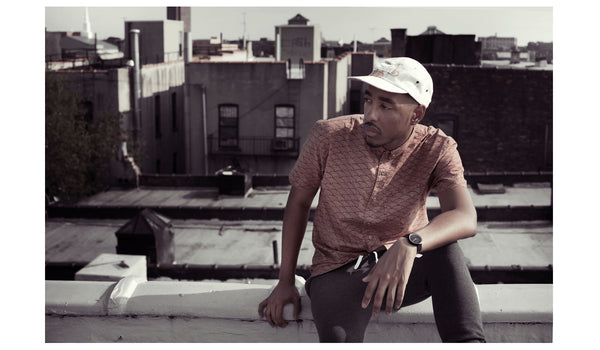 Oddisee NYC Rooftop Editorial | Shot by Jerry Buttles