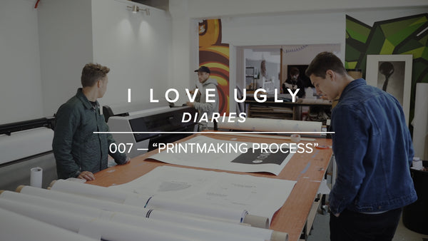 "ILU DIARIES 007 - ""Printmaking Process"""