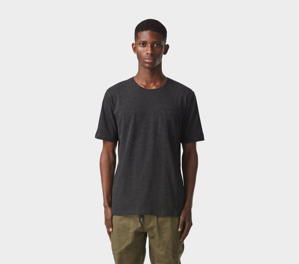 Easy Pocket Tee - Black Speckle