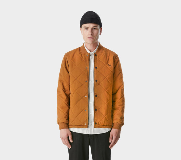 Davey Bomber Jacket - Tan