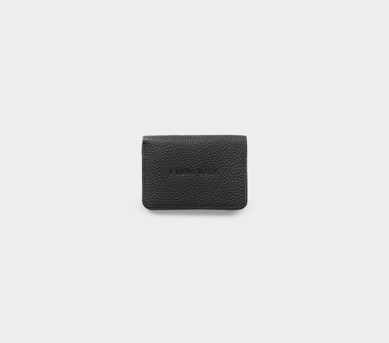 Franklin Wallet - Black Leather