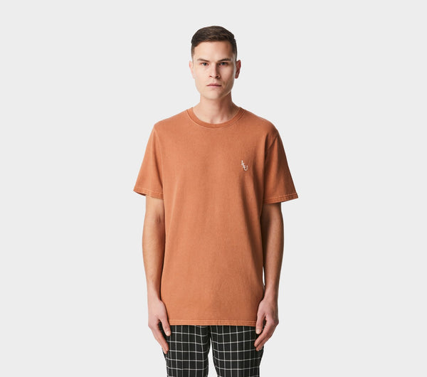 Heavy Easy Tee - Washed Burnt Orange