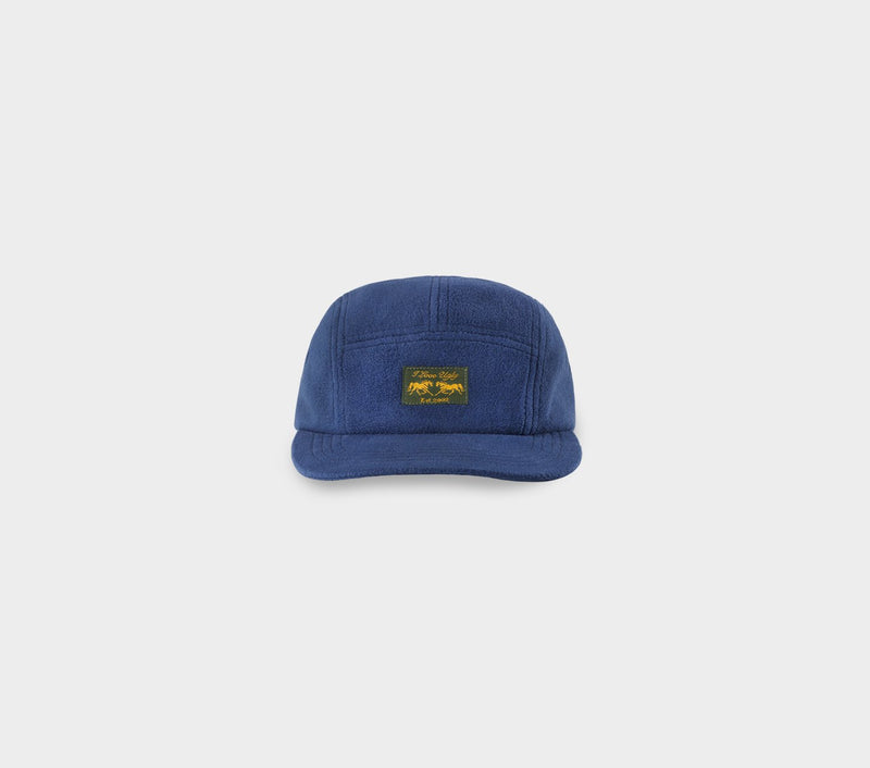 Fleece 5 Panel Cap - Navy