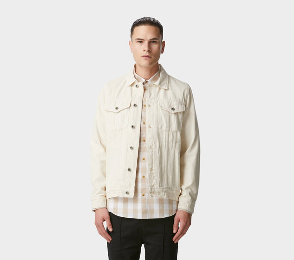 Denim Jacket - Ivory