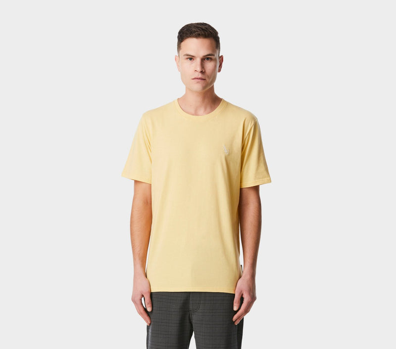 Monogram Easy Tee - Lemon