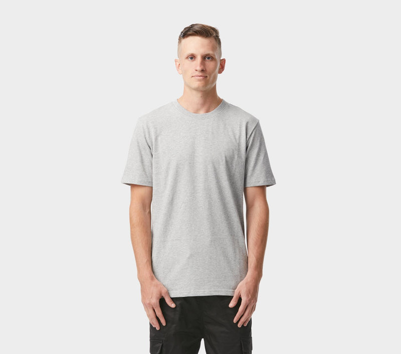 Vertical Tape Tee - Vintage Grey