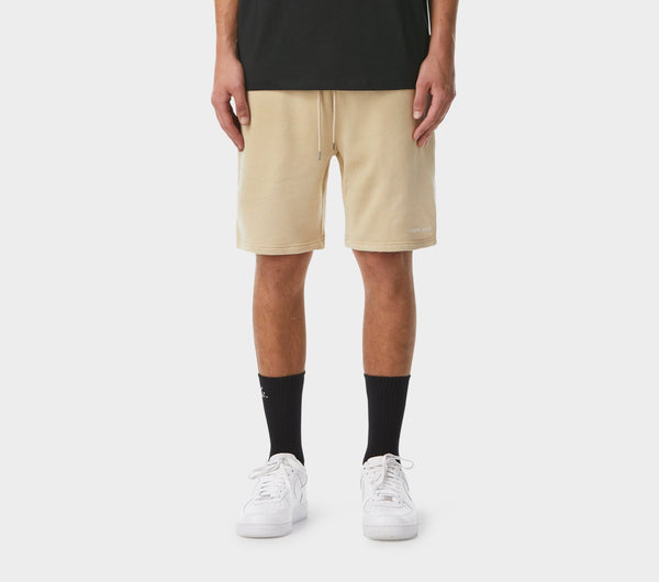 Trackie Short - Tan