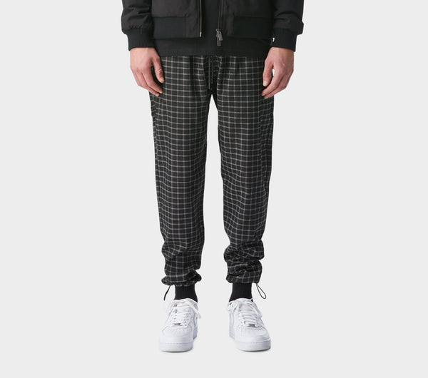 Utility Pants - Black Check