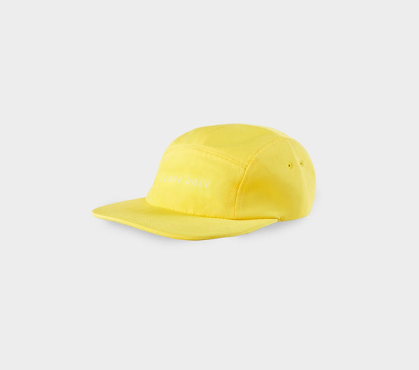5 Panel Cap - Yellow