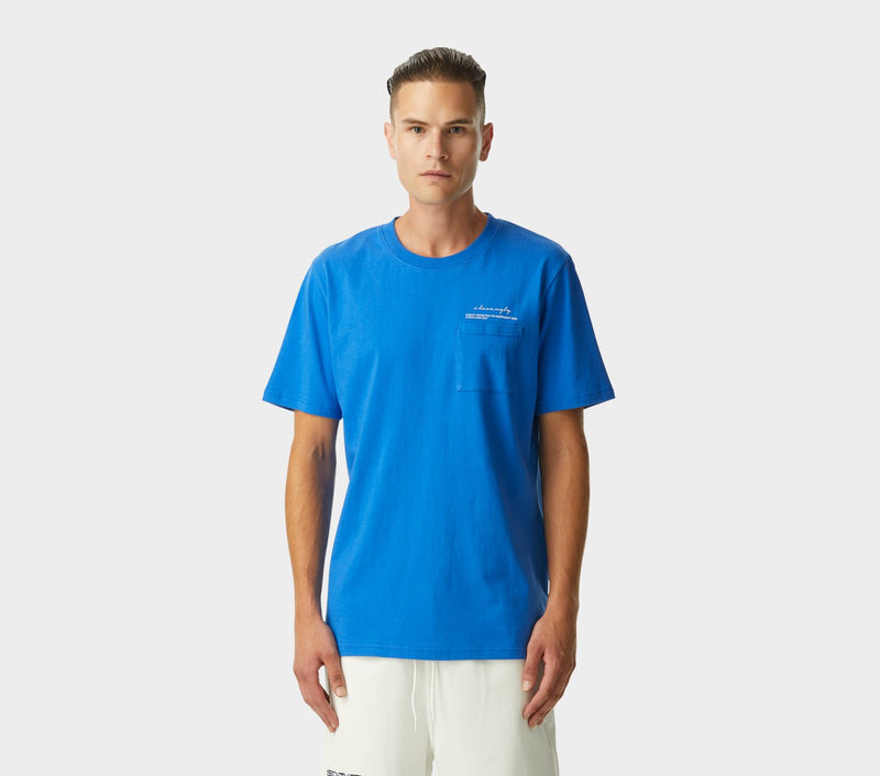 QGFTIM Tee - Electric Blue