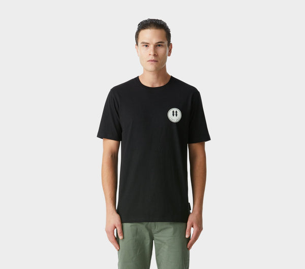 ILU Smiley Tee - Black