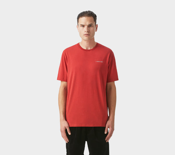 Easy Logo Tee - Blood Red