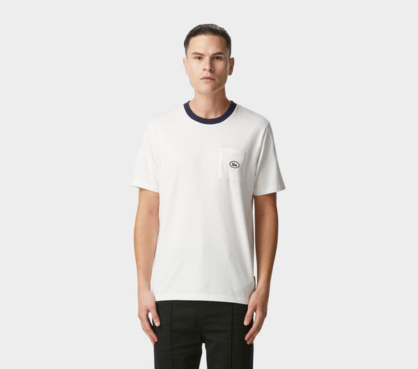 Donnie Pocket Tee - White