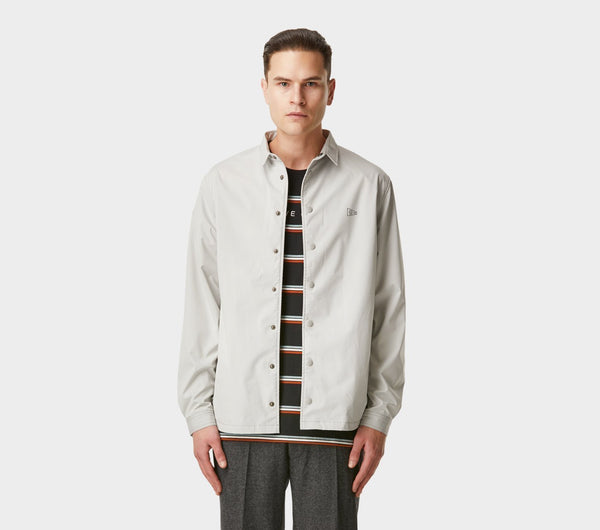 Coaches Jacket - Light Grey
