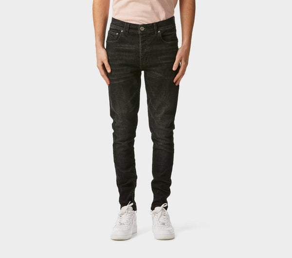 Smart Zespy Pant Denim - Rinsed Black