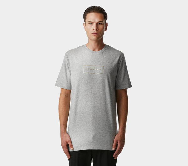 Gold Logo Tee - Grey
