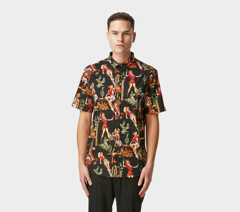 Jonty Short Sleeve Shirt - Nancy Print