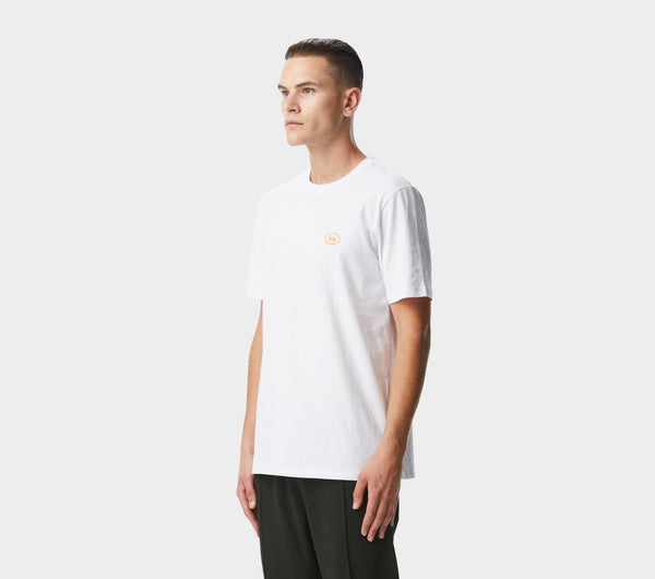 Donnie Logo Tee - White