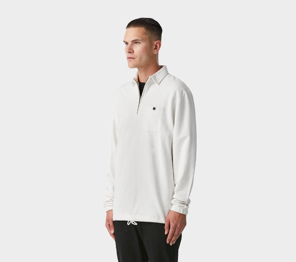 Murphy Pullover Shirt - Winter White