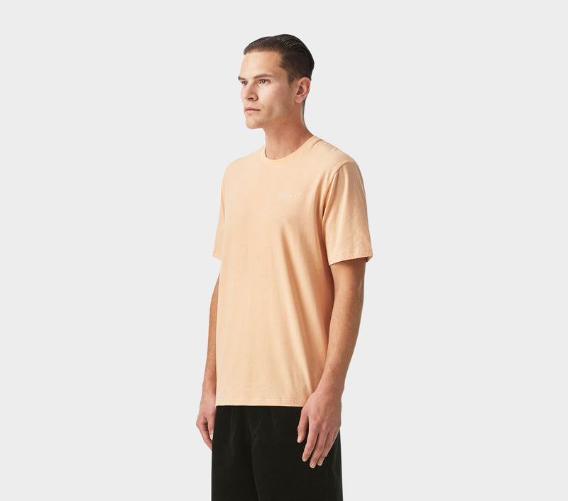 Easy Logo Tee - Peach