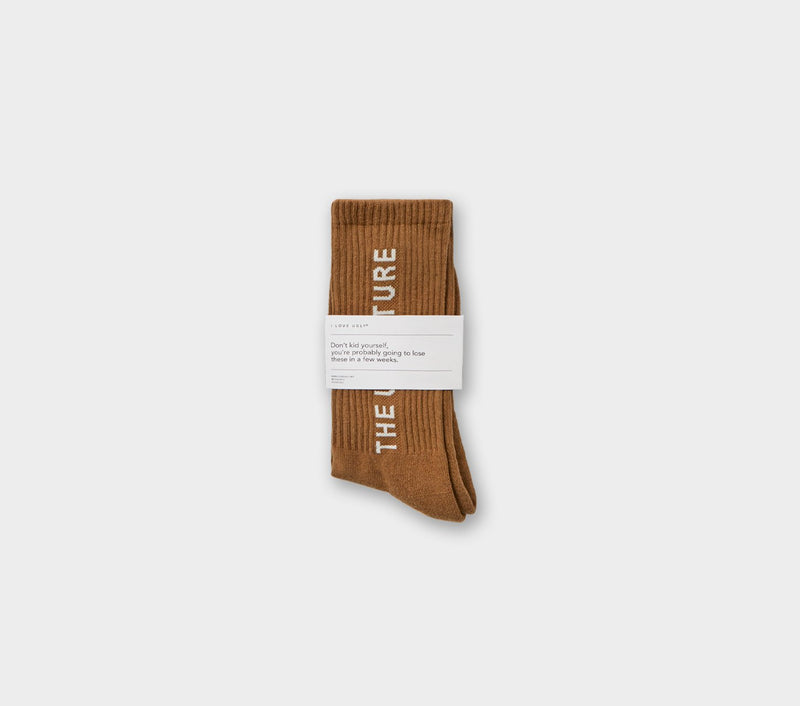 Unfuture Sock - Khaki