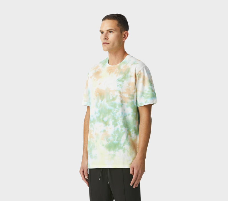 Relaxed Tie Dye Tee - Lemon and Lime