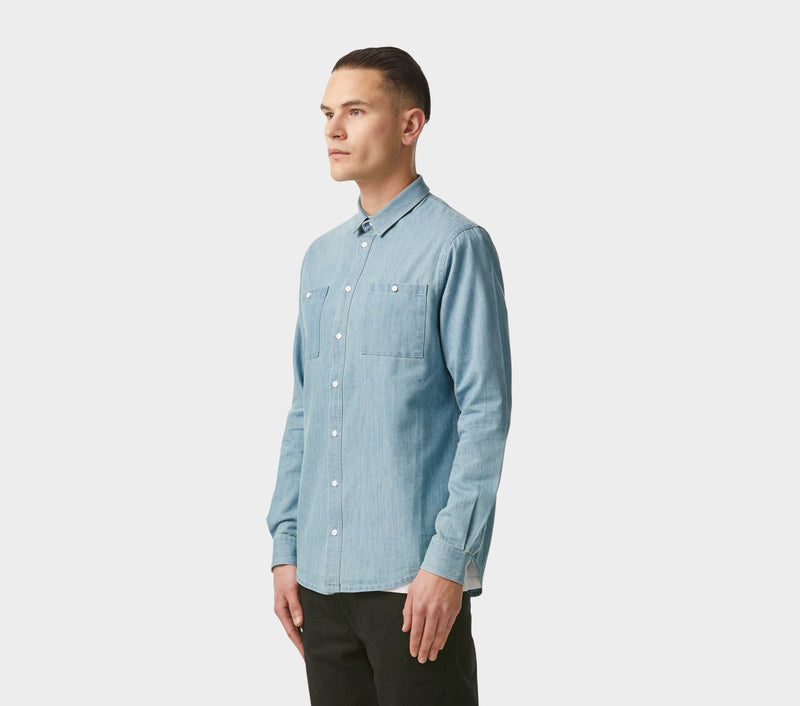 Artisan Shirt - Soft Blue Denim