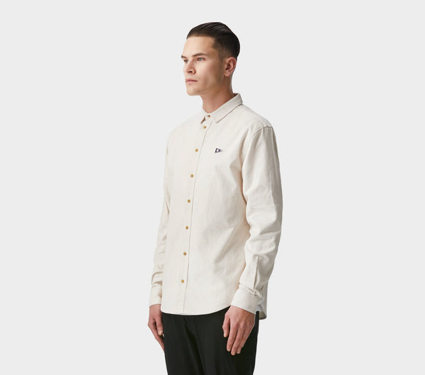 Essential Shirt - Winter White Corduroy