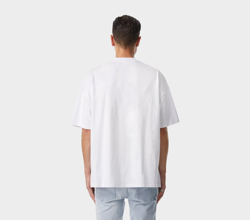 Candy Box Fit Tee - White