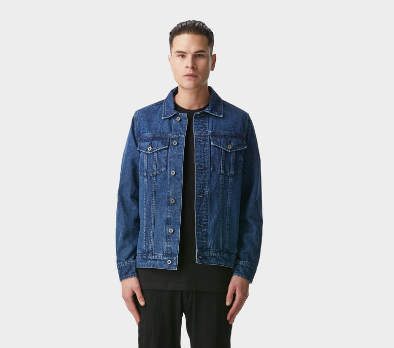 Denim Jacket - Mid Stonewash