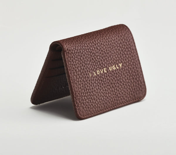 Franklin Wallet - Brown Pebbled