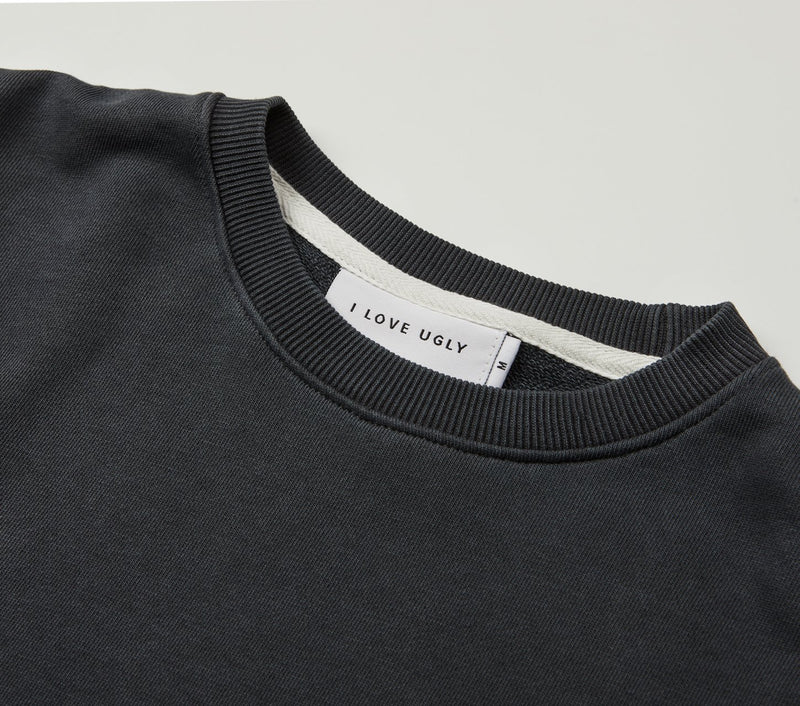 Casper Crew - Washed Black