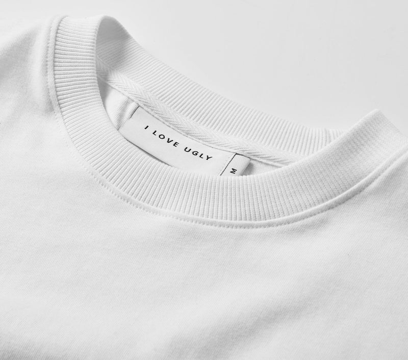 Portrait Relaxed Tee - White