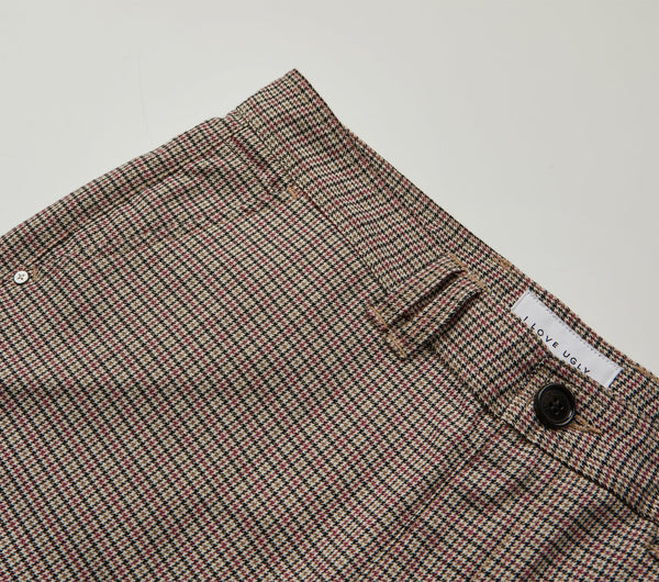 Smart Pant - Houndstooth Check