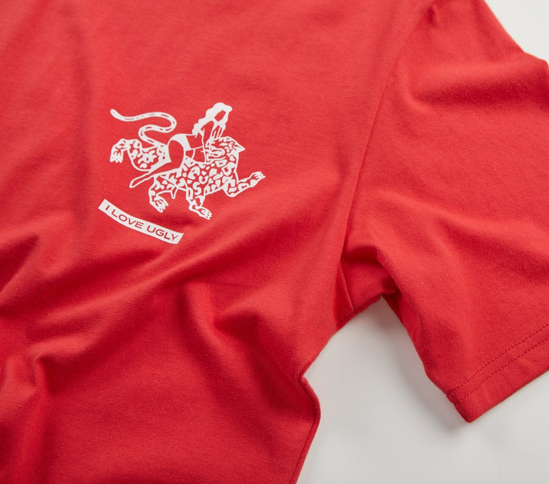 ILU Safari Tee - Red
