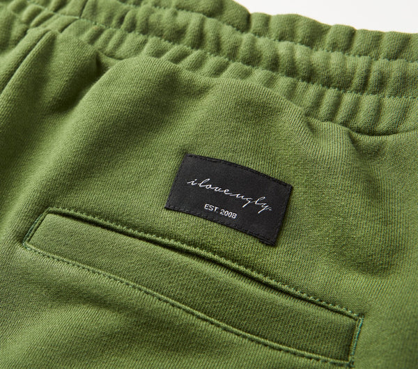 Trackie Short - Green
