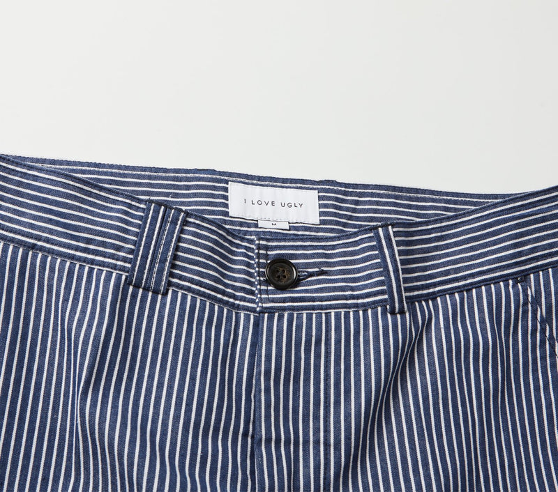 Slim Kobe Pant - Navy Stripe