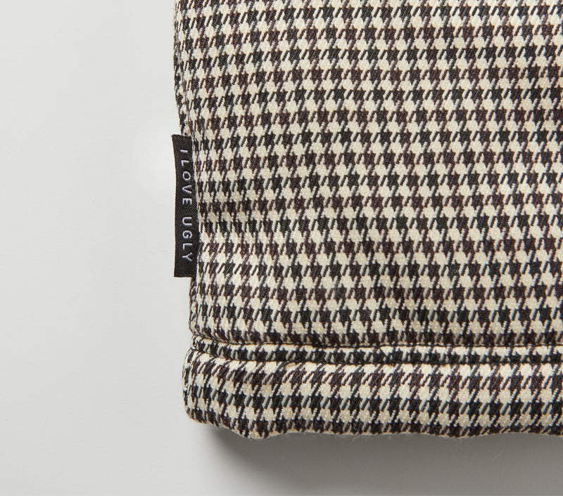 Henry Checked Coaches Jacket - Brown/Black