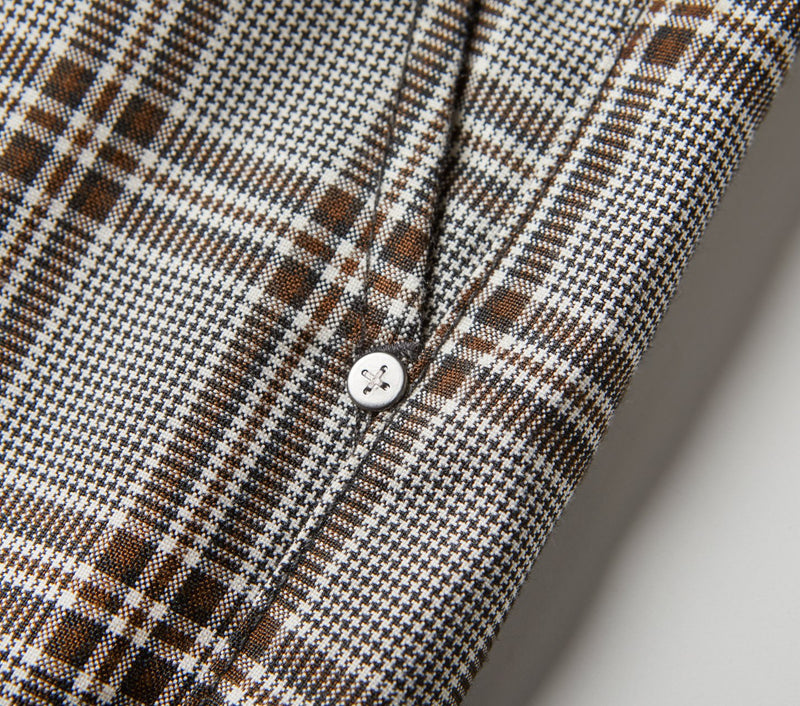 Smart Pant - Brown Check