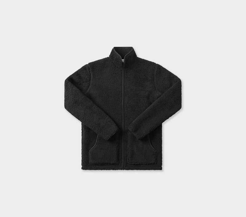Unfuture Sherpa Jacket - Black