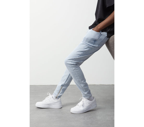 Smart Zespy Pant Denim - Light Blue