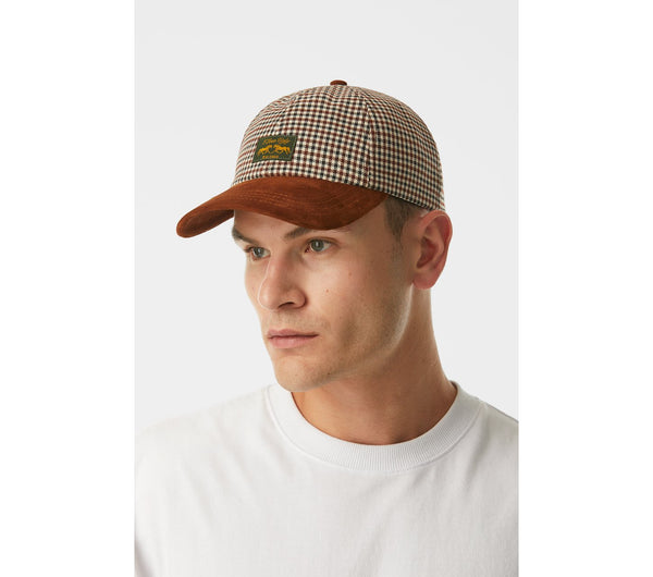 Dad Cap - Walnut Check