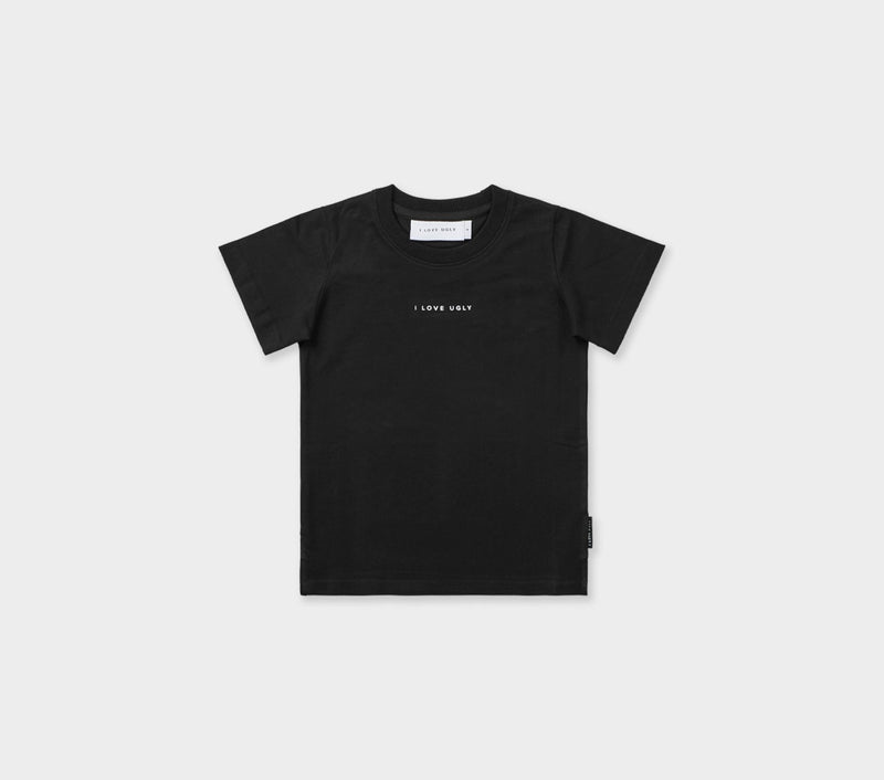 Kids Easy Logo Tee - Black