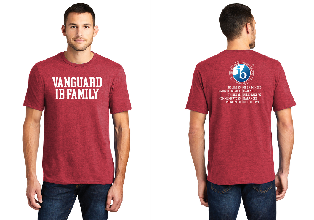 IB Family T-Shirt - Heather Red