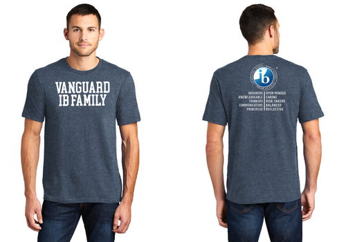 IB Family T-Shirt - Heather Navy