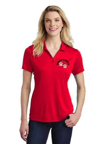 Dunnellon Elementary Women's Polo - Red
